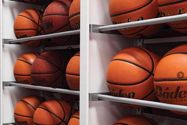 Basketball Shelving Four Post Shelving