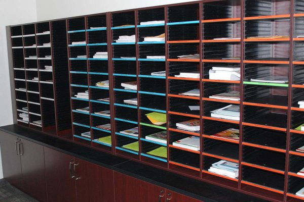 Mail Sorter Storage for Document Processing