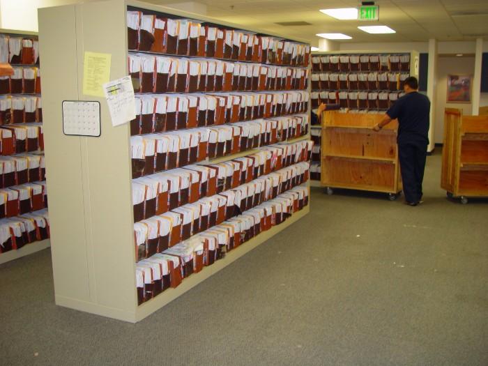Loaded Shelving File Move