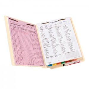 color coding file folders, color coded filing supplies