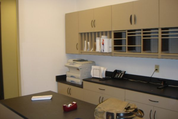 Modular Casework Mail Room Furniture