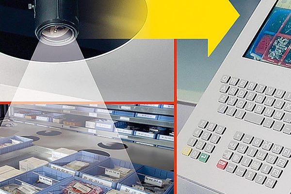 Vertical Lift Module Inventory Control Access