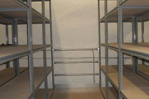 Wide Span Shelving for Mezzanines