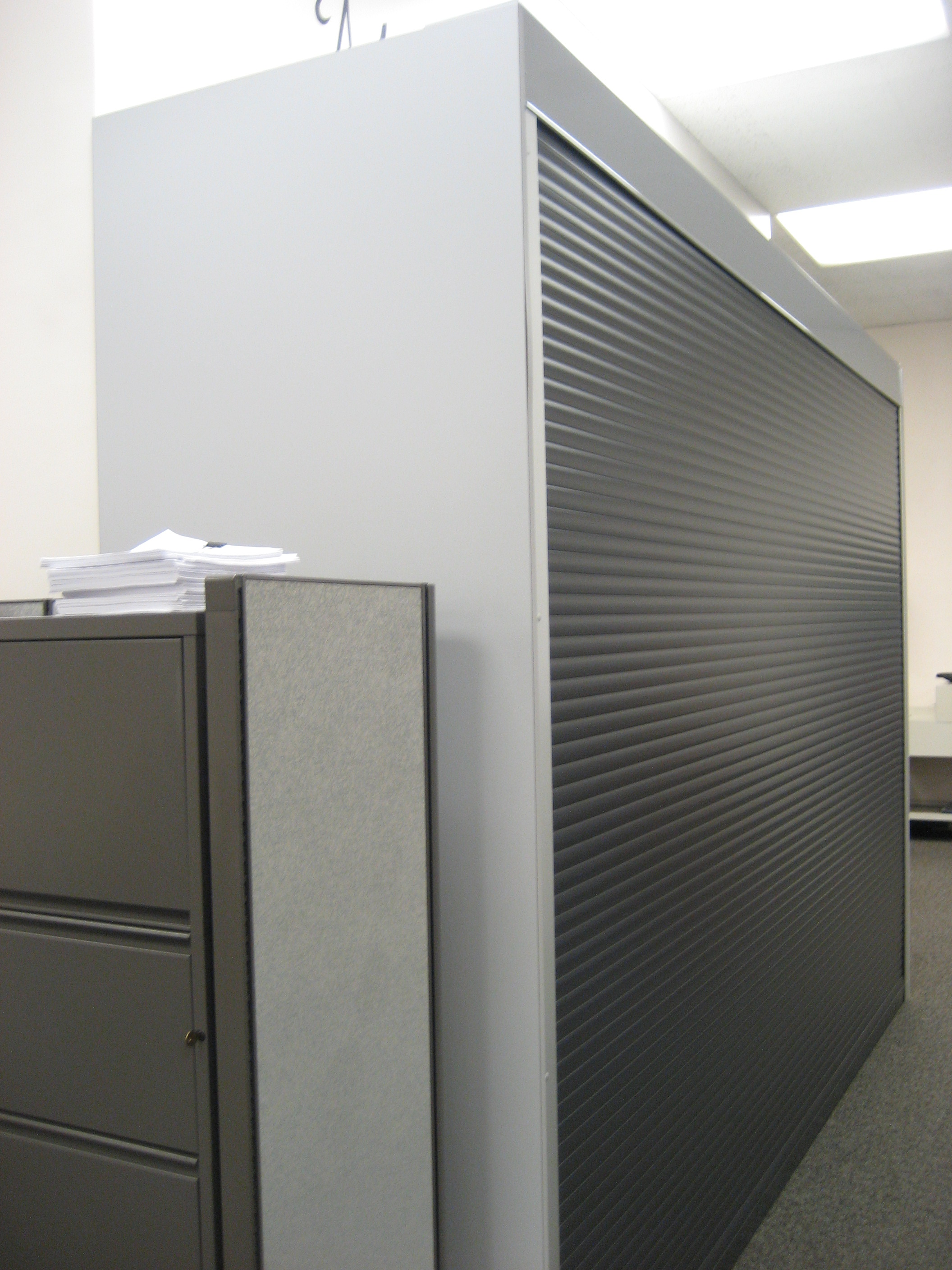 Rollok Security Door for file shelving