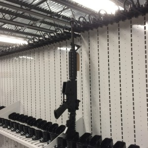 Square-Combat Weapon Shelving M4 storage