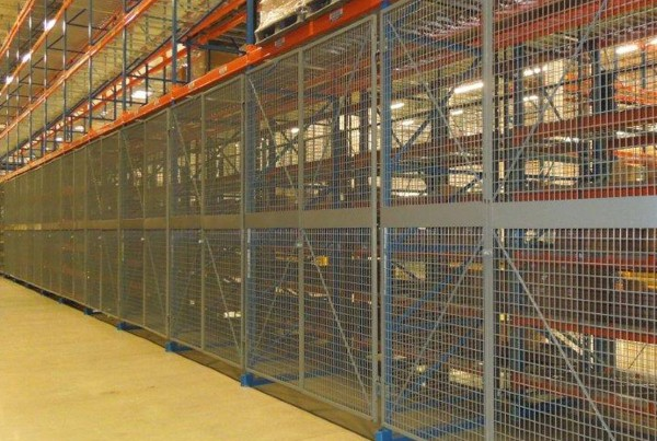 Pallet Rack Security Doors, Pallet Rack Doors