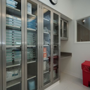 Stainless Steel Laboratory Storage Cabinets