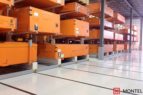 Industrial Powered Mobile Storage System, Material Handling Systems