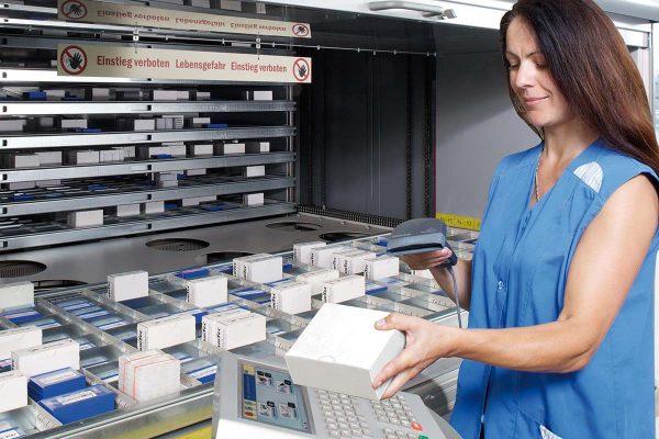 Hanel Lean Lift Vertical Lift Module Inventory Control
