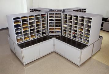 Hamilton Sorter Mail Room Sort Module & Sort Console Table