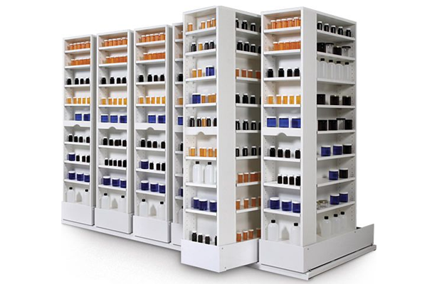 Pharmaceutical Shelving System