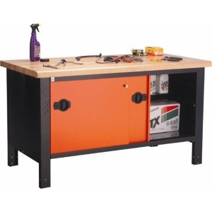 Automotive-Hardwood-Workbench