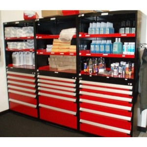 Automotive Parts Storage Cabinets