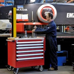 CNC Manufacturing Mobile Workcenter Cabinets