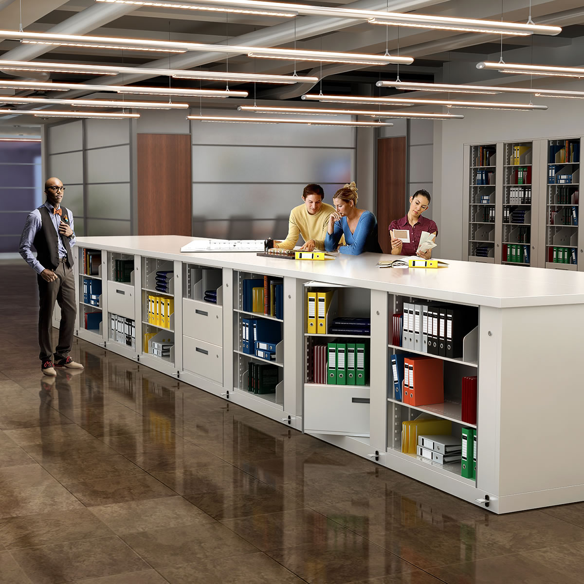 Rotary File Storage Cabinets Vital Valt