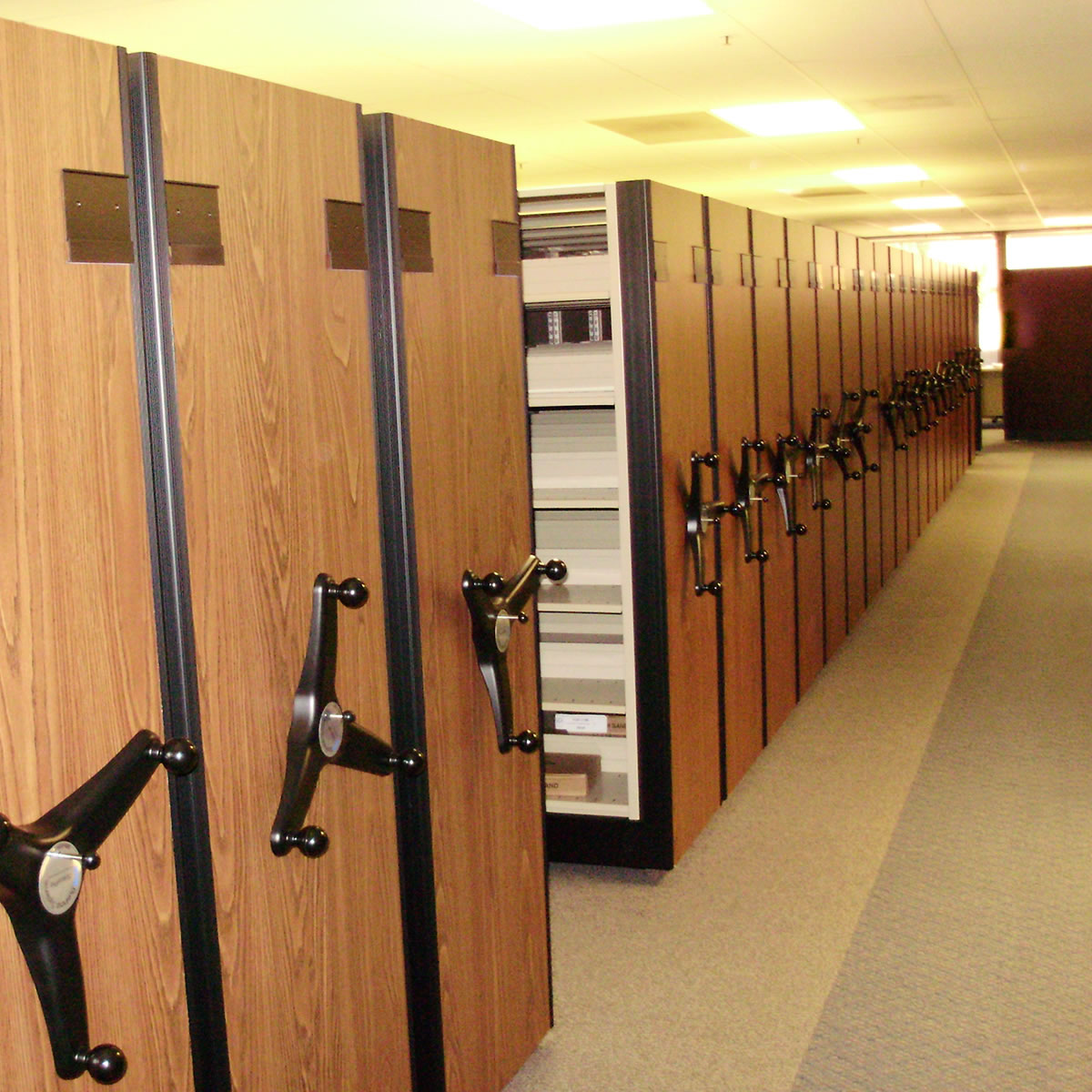High Density Compact Mobile Shelving Storage Systems