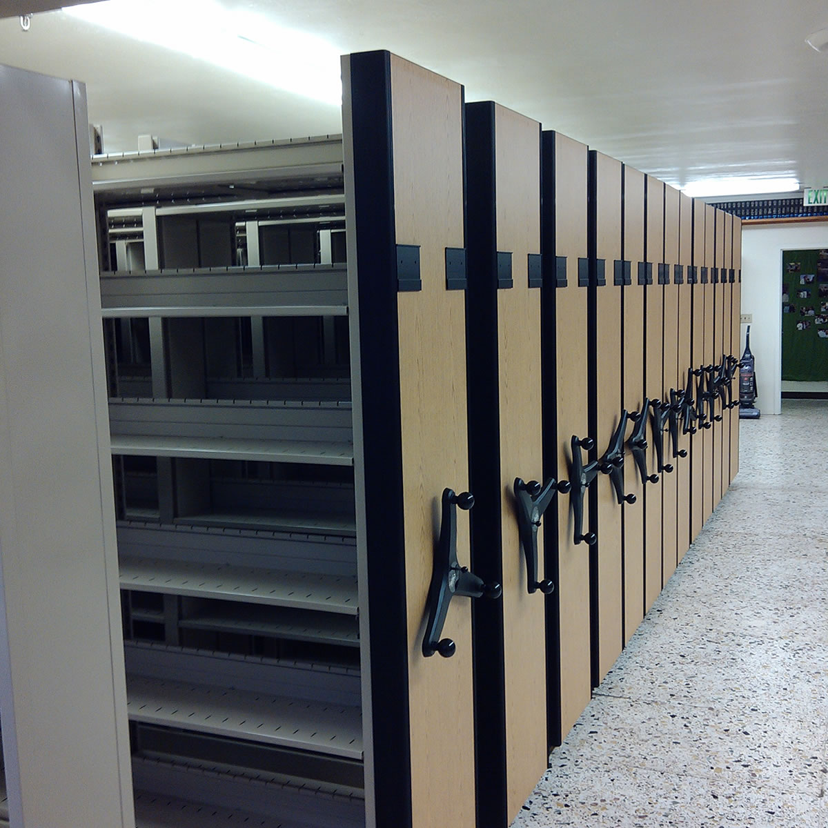 office shelving systems. Square-High-Density-Mobile-File-Shelving-System Office Shelving Systems I