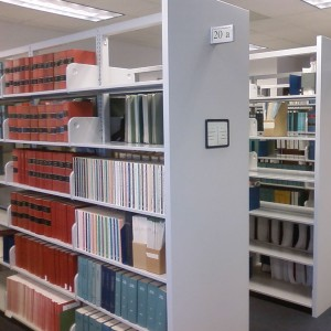 square-Library-Shelving-with-steel-end-panels