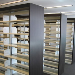 square-Library-Shelving-with-wood-End-Panels