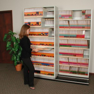 square-Medical-Record-Sliding-File-Storage-Shelving
