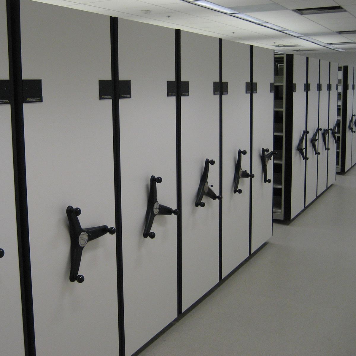 Mobile Shelving Design | Compact Shelving Design