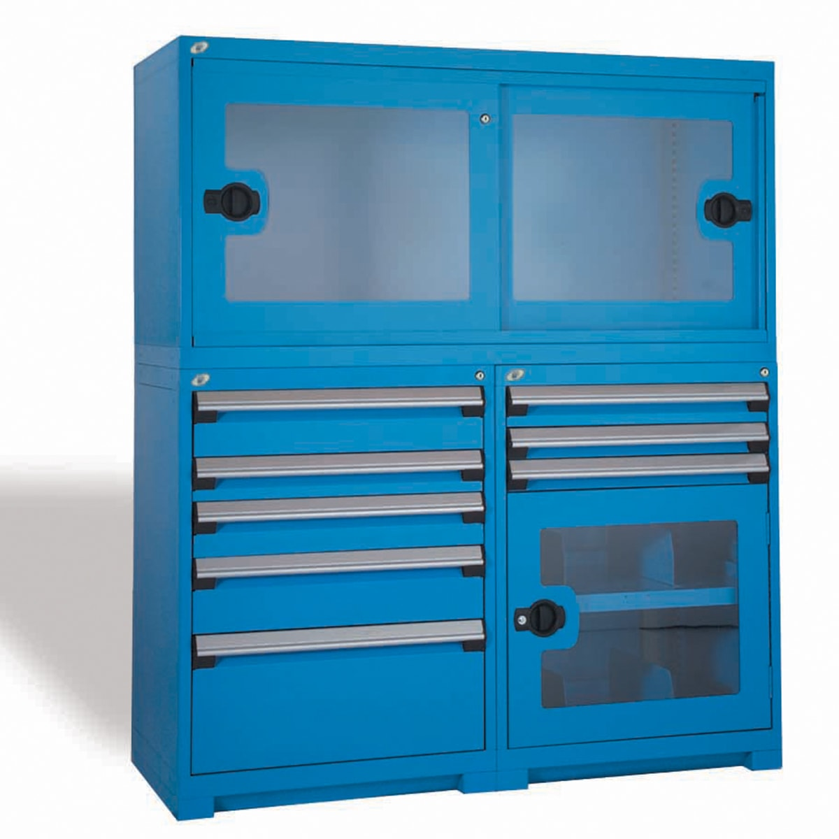 Modular Drawer Cabinet With. Overstorage Locking Cabinet