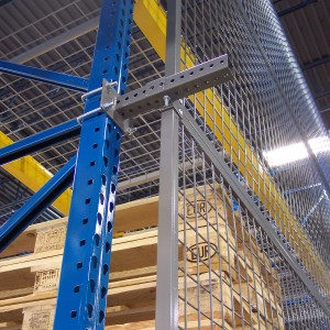 Pallet-Rack-Doors-for-secure-warehouse-storage