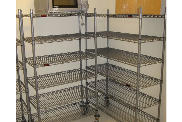 Wire Shelving Systems, Wire Healthcare Rolling Shelving