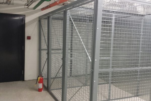 Welded Wire Security Cages
