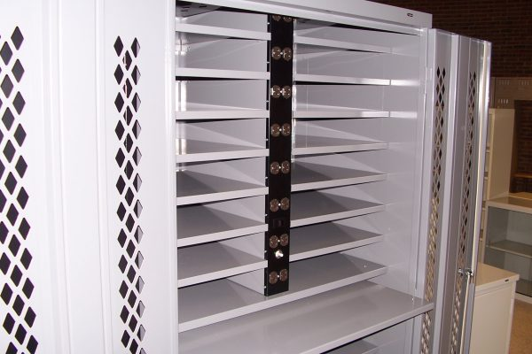 Secure Laptop Cabinet Storage
