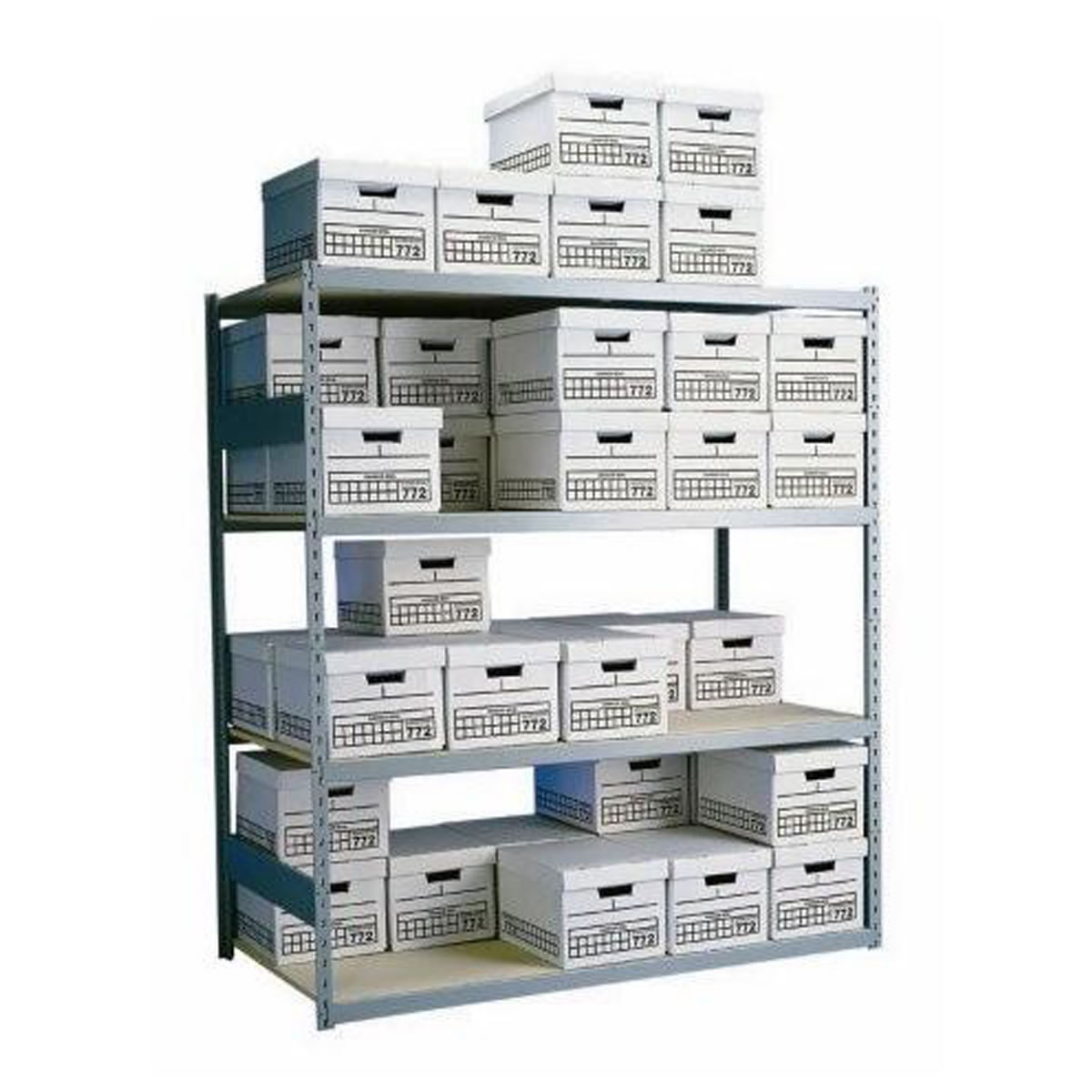 Archive Box Shelving, Long Span Box Shelving