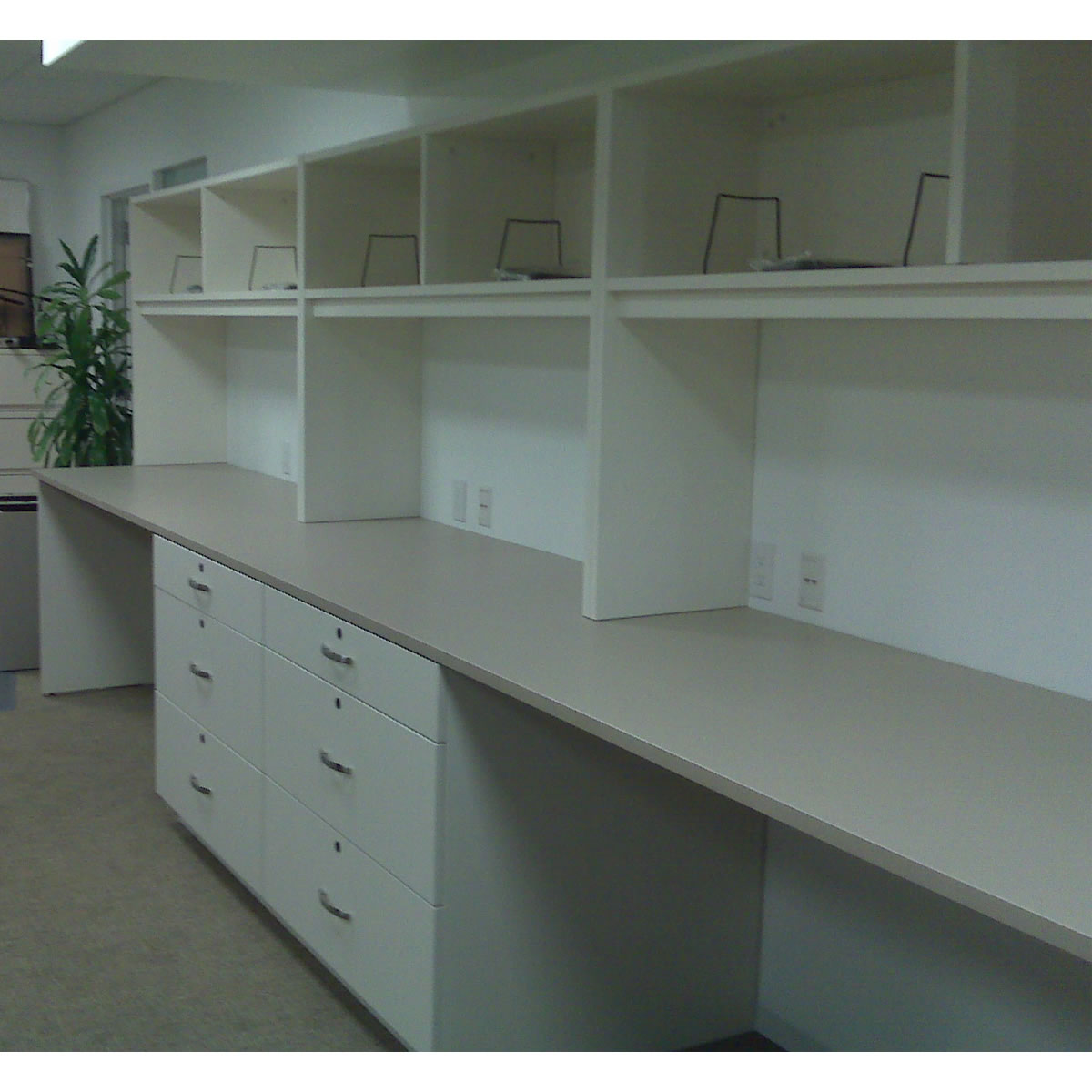 Mailroom Furniture Risers And Base Cabinets
