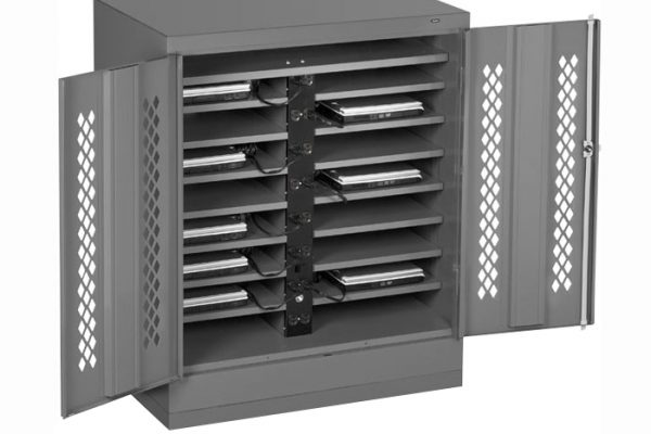 Tennsco Small Secure Laptop Cabinet