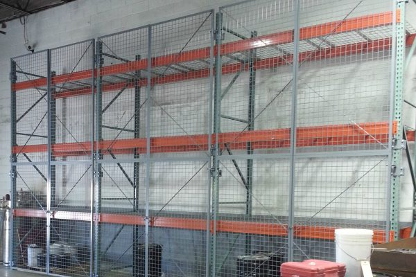 Welded Wire Pallet Rack Doors, Warehouse Racking Doors