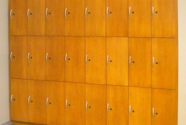 wall mounted lockers
