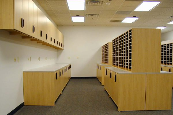 Office Casework Furniture, Office Storage for Color Coded Filing Systems