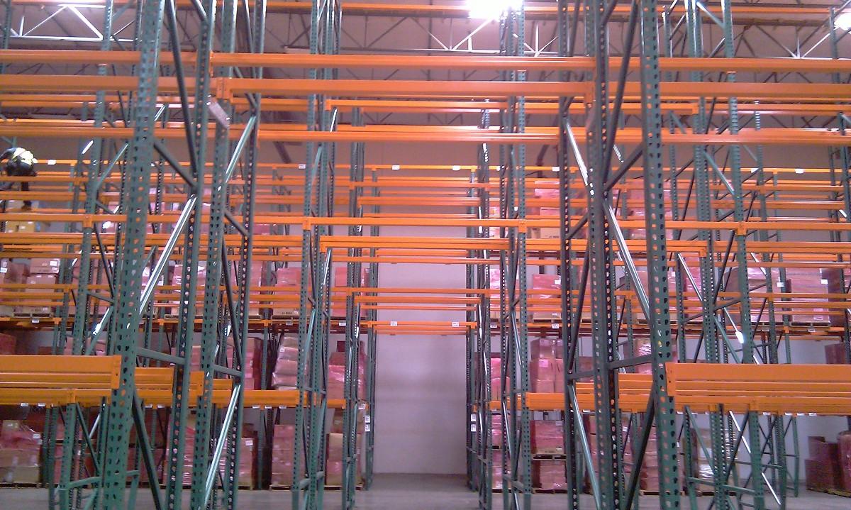 Pallet-Rack-System Pallet House I Beam Design on i-beam pallet house plans, i-beam home designs, i-beam pallet house by, home modern modular prefab house,