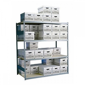 Wide Span Box Shelving