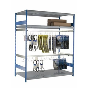 Vital Valt -Automotive Hanging Parts Storage - Wide Span Shelving Rack