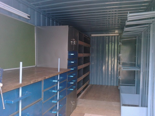 Conex Box Mobile Storage Room