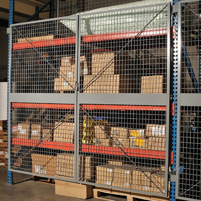 VitalValt Pallet Rack Security Doors