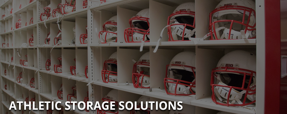 Athletic Equipment Storage