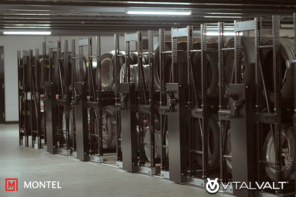 Mechanical Assist Mobile Shelving Systems
