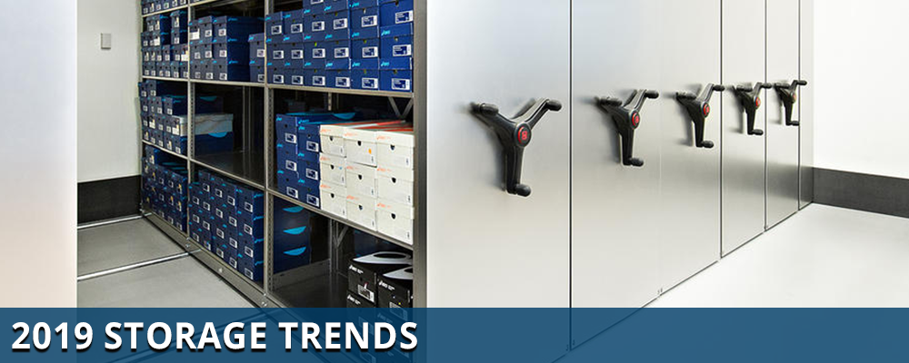 office storage trends, industrial storage trends