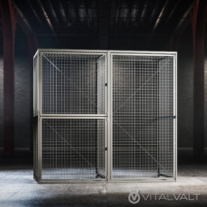 Tenant Storage Cages - Wire Cages for Tenant Storage
