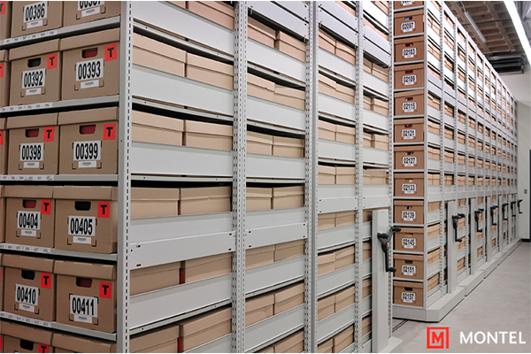 File Box Storage Shelving - Record Box Storage Shelving - Record Storage Shelving System