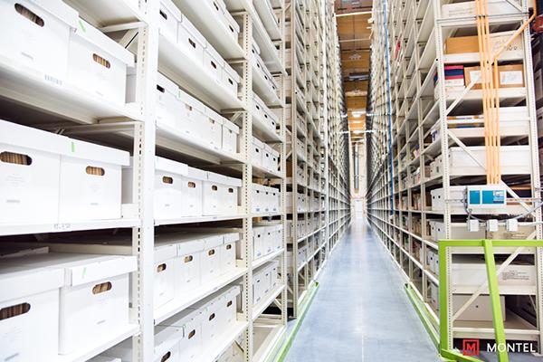 Archival Record Racks - Record Shelving - Box Archive Shelves