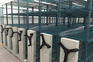 Cold Storage Storage Systems - Mobile Shelving System
