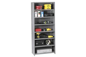 Steel Clip Shelving - Clip Shelves - Clip Style Shelving