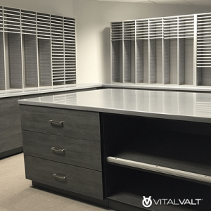 Custom Casework for Mailroom - Office - Apartments - Condos